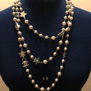 Chanel Mutli-layer CC Chain necklace